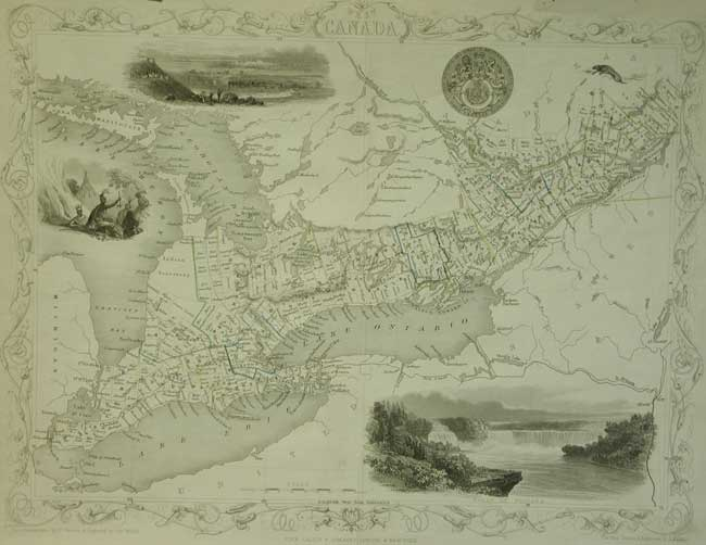 map of ontario and quebec. MAP OF S. ONTARIO amp; QUEBEC