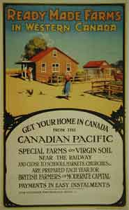 Image result for canada farm land for sale vintage posters