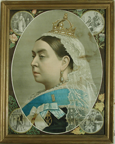 queen victoria jubilee portrait panels